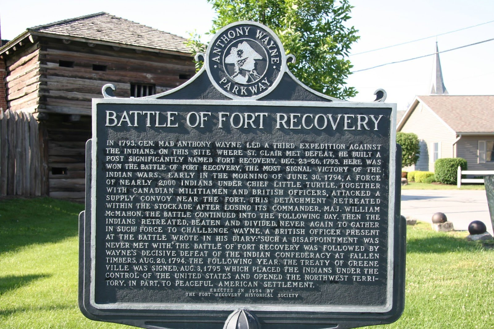 Ohio mercer county fort recovery - About
